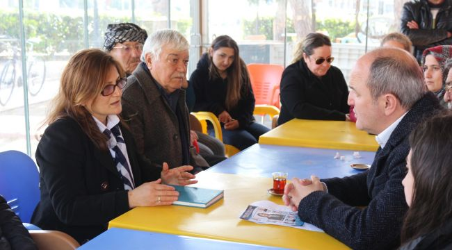 Aşçıoğlu, Başkan Adaylarına Projelerini anlattı