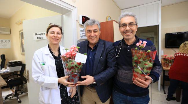 Başkan İnce 14 Mart Tıp Bayramını Kutladı