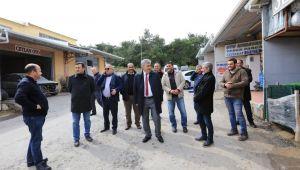 Başkan İnce'den Sanayi Sitesi Ziyareti