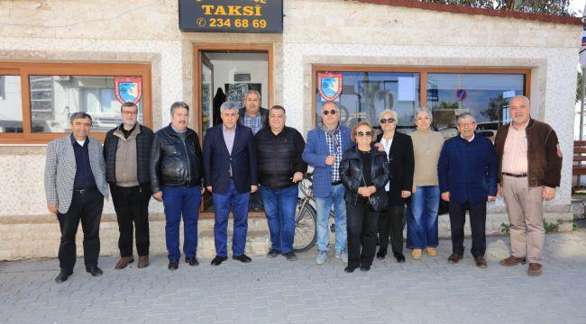 Başkan İnce Taksicileri Ziyaret Etti