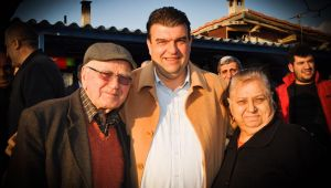 CHP'nin adayı İsmail Yetişkin'den pazar mesaisi