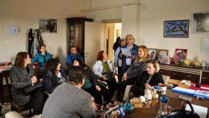 İsmail Yetişkin, Ürkmez'deki esnafları ziyaret etti
