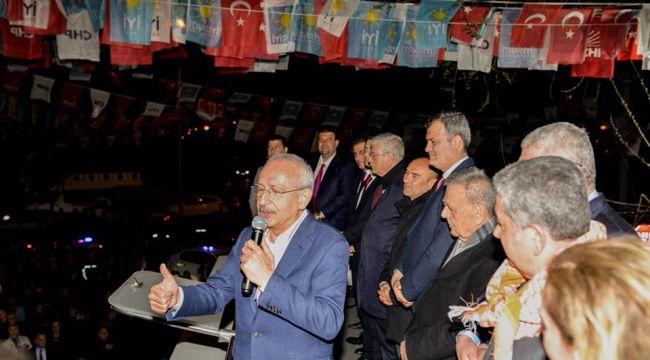 Kılıçdaroğlu'ndan sürpriz Tire mitingi