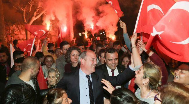 Sığacık'ta Cumhur ittifakı Nişancı'dan Gövde gösterisi
