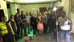 Tepecik Okulu'nun onarım çalışmaları başladı