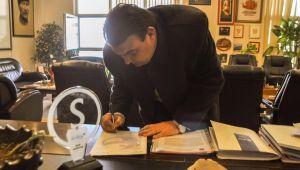 Yetişkin, Yerel Yönetim Taahhütnamesi'ni imzaladı