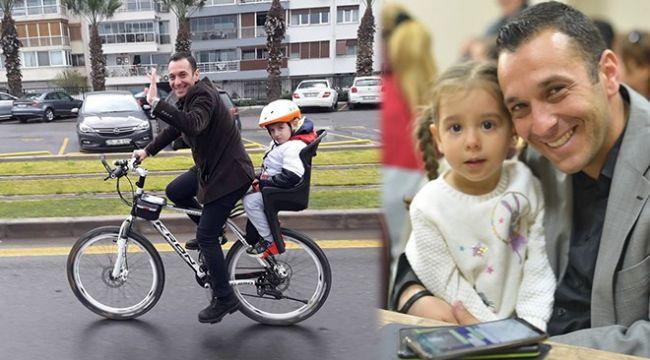 Bisikletli başkana, bisikletli özel kalem