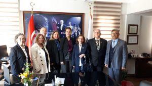 Foça Temad'dan İlçe Emniyet Müdürüne Ziyaret