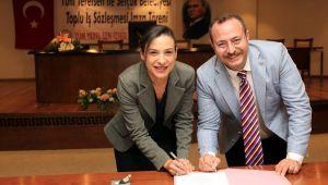 Selçuk Belediyesi Toplu iş sözleşmesi imzaladı
