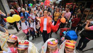 Selçuk'ta 23 Nisan Çocuk bayramı kutlandı