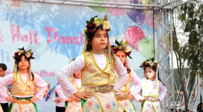 Uluslararası Halk Dansları Festivali gala gecesi