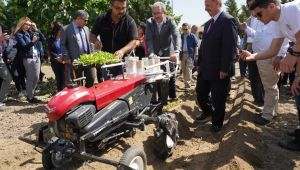 Üniversite bünyesinde uygulamalı ilk tarım festivali