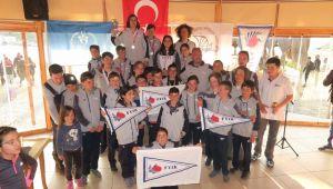 Yelken İl Birinciliği yarışları Foça'da yapıldı