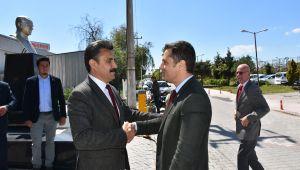 Yücel'den Kırgöz'e Tebrik Ziyareti
