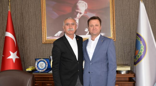 Başkan Aksoy'a Disk Ziyareti