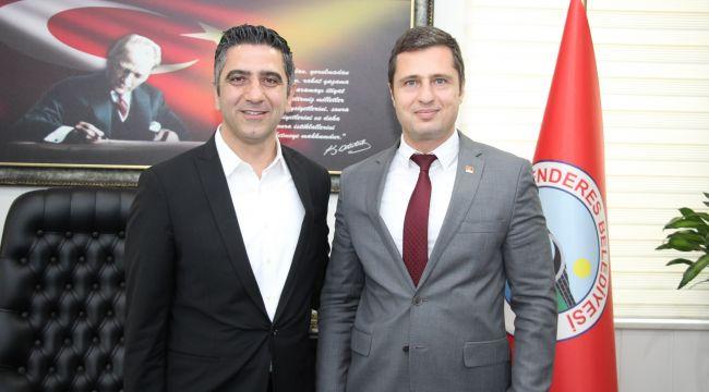CHP İl Başkanı'ndan Kayalar'a Tebrik Ziyareti