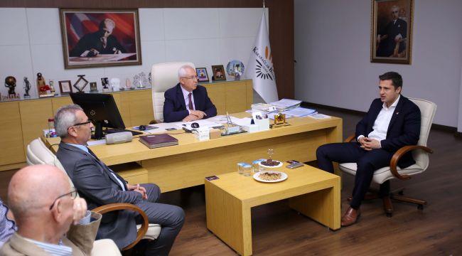 CHP İl Başkanı Yücel'den Başkan Selvitopu'na hayırlı olsun ziyareti