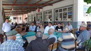 CHP Seferihisar'dan Honaz'a Destek Ziyareti