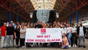 CHP Seferihisar'dan İmamoğlu'na büyük destek