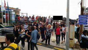 İzmir-Urla vapur seferleri bu sabah başladı