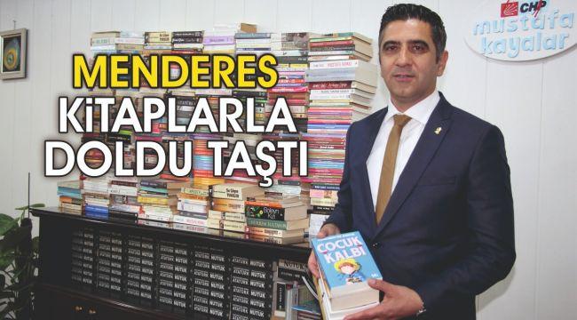 Menderes Kitaplarla Doldu Taştı