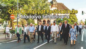 Özel Olimpiyat Festivali'nde 4 Madalya Seferihisar'a