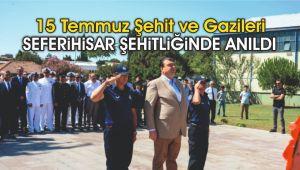 15 Temmuz Şehit ve Gazileri anıldı