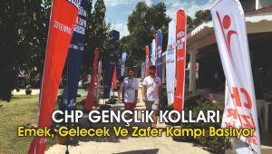 CHP Gençlik Kolları Emek, Gelecek ve Zafer Kampı başlıyor