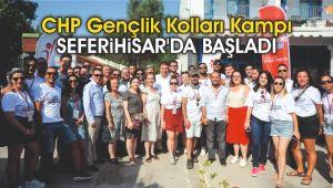 CHP Gençlik Kolları Kampı Seferihisar'da başladı