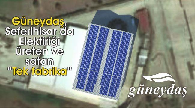 Fabrika Elektriğini Güneş Enerjisinden Sağlıyor