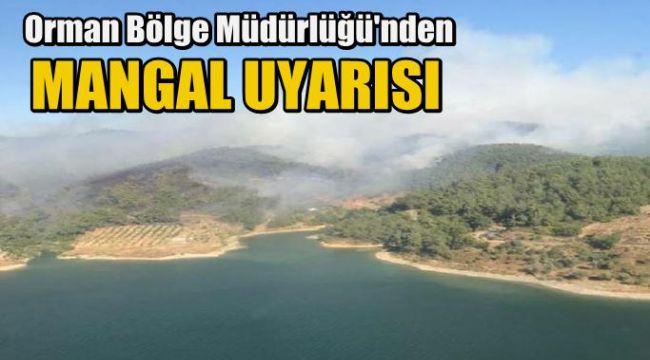 İzmir Orman Bölge Müdürü'nden 'mangal' uyarısı