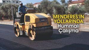 Menderes'in Yollarında Hummalı Çalışma