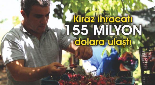 Türk kirazı Çin seddini aştı