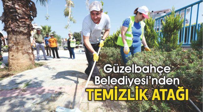 Güzelbahçe Belediyesi'nden Temizlik Atağı