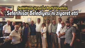 İyi Parti Seferihisar Belediyesi'ni ziyaret etti