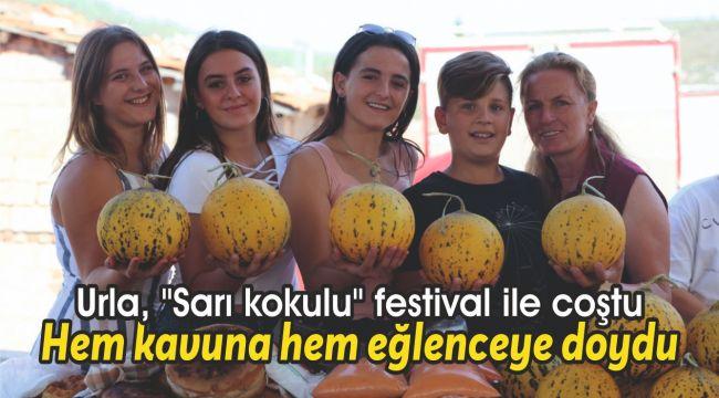 İzmir, hem kavuna hem eğlenceye doydu