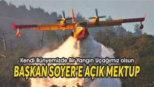 Kendi Bünyemizde Bir Yangın Uçağımız olsun