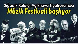 Sığacık Müzik Festivali başlıyor