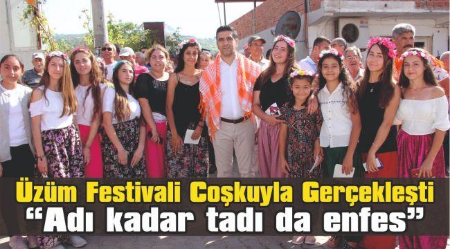 Üzüm Festivali Coşkuyla Gerçekleşti