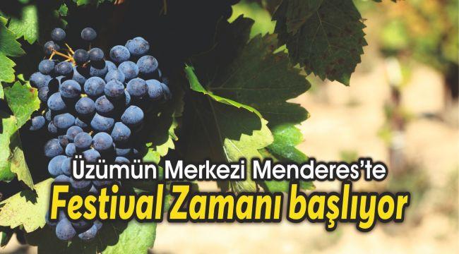 Üzümün Merkezinde Festival Zamanı
