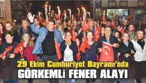 29 Ekim Cumhuriyet Bayramı'nda Görkemli Fener Alayı
