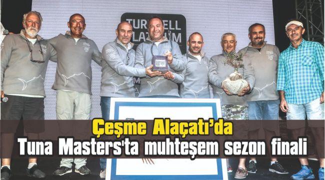 Tuna Masters'ta muhteşem sezon finali