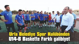 Urla Belediye Spor Kulübünden farklı galibiyet