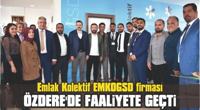 Emlak Kolektif EmkoGSD firması Özdere'de faaliyete geçti