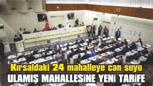 Kırsaldaki 24 mahalleye can suyu