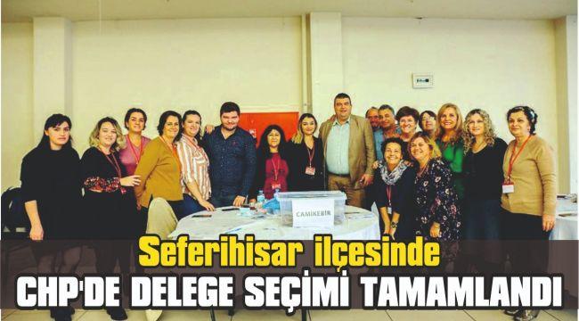 Seferihisar CHP'de delege seçimi tamamlandı