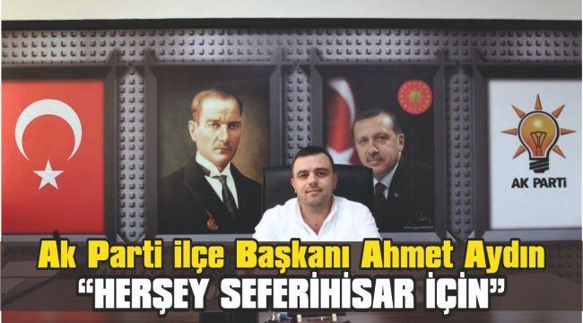 Başkan Aydın;