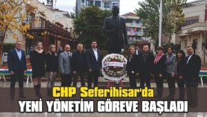 CHP Seferihisar'da yeni yönetim göreve başladı