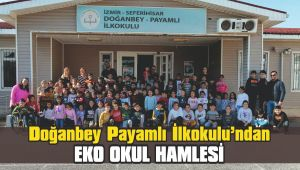 Doğanbey Payamlı İlkokulu'ndan Eko Okul Hamlesi