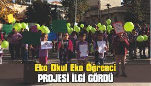 Eko Okul Eko Öğrenci projesi ilgi gördü